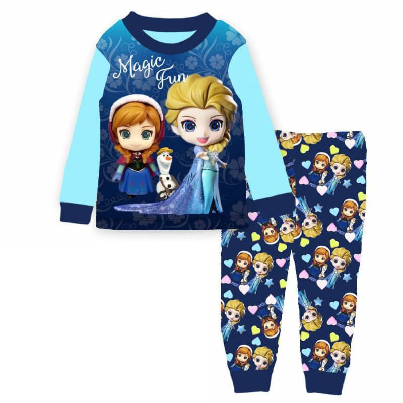 Pijamas Frozen Magic Fun