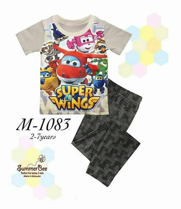 Pijamas Superwings (M-1083)