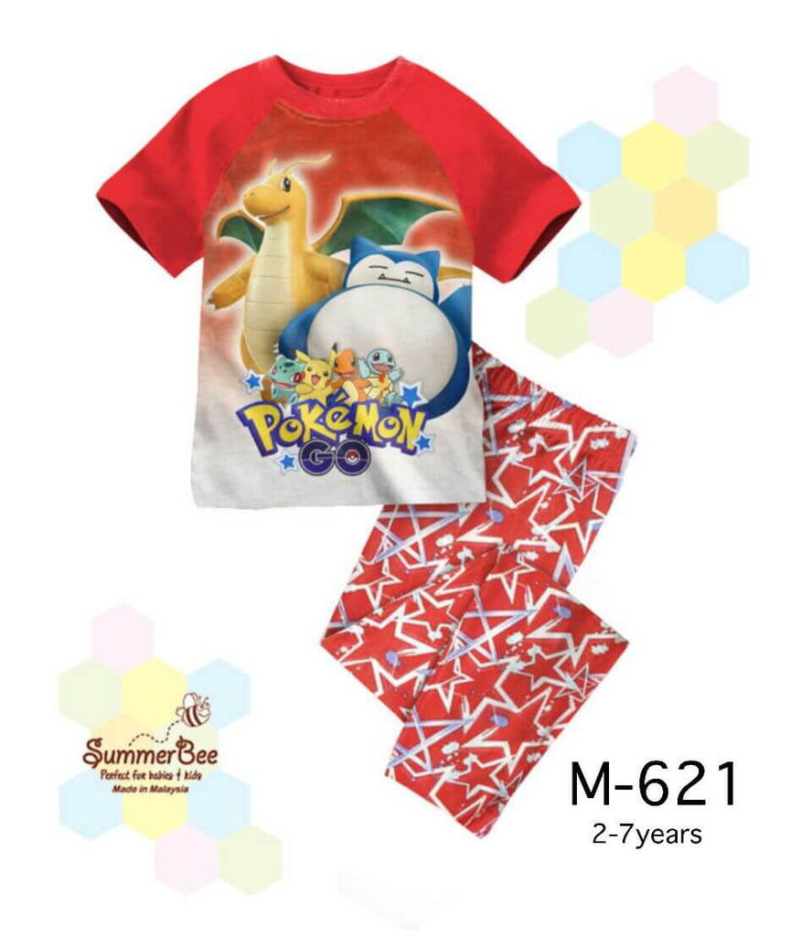 Pijamas Pokemon (M-621)