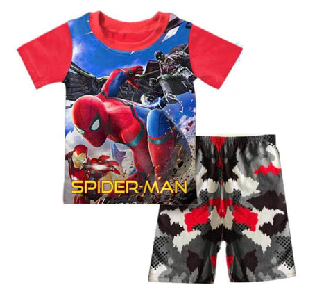 T-Shirt Spiderman (Q-106)