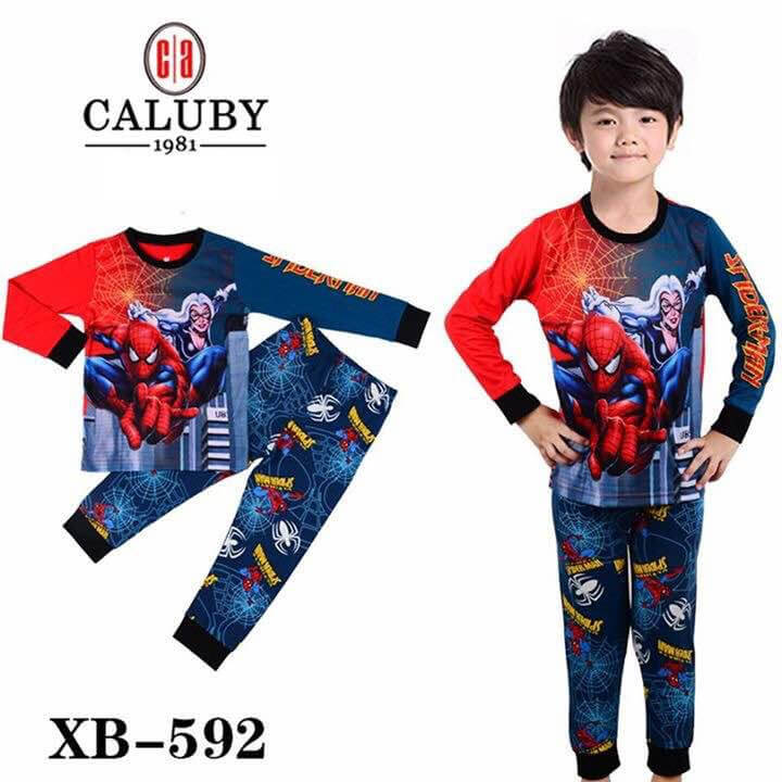 Pijamas Spiderman (XB-592-M)