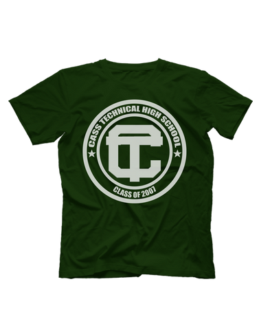 "Cass Tech ""C/O 07"" Short Sleeve T-shirt"