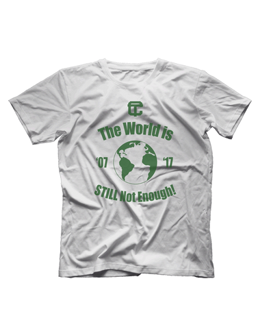 "Cass Tech ""The World is Still Not Enough"" Short Sleeve T-shirt"