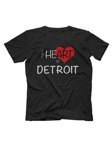 Heart of Detroit Short Sleeve T-shirt