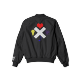 Love Life Mind Music Bomber Jacket