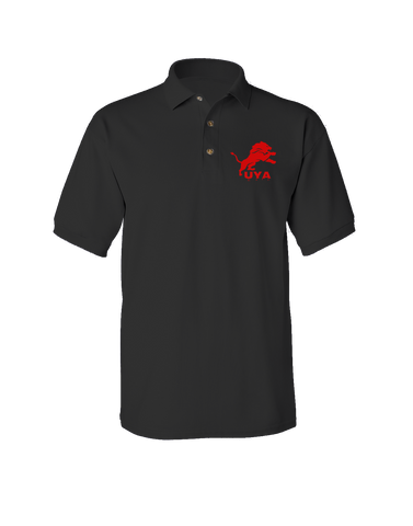 UYA Lion Short Sleeve Jersey Polo