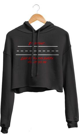 Look Both Ways Cropped Hoodie