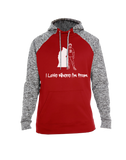 I Love Where I'm From Colorblock Hoodie