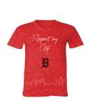 Respect My City (Detroit) Short Sleeve V-neck T-shirt