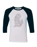 Streets of Detroit Baseball T-shirt