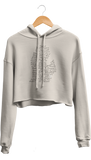 Streets of Detroit Cropped Hoodie