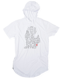 Streets of Detroit Short Sleeve Hooded T-shirt