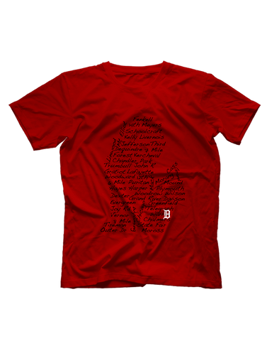 Streets of Detroit Short Sleeve T-shirt