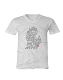 Streets of Detroit V Neck T-shirt
