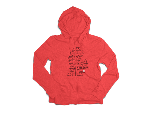 Streets of Detroit Full Zip Hoodie