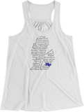 Streets of HP Women's Racerback Tank