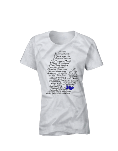 Streets of HP Short Sleeve Women's T-shirt
