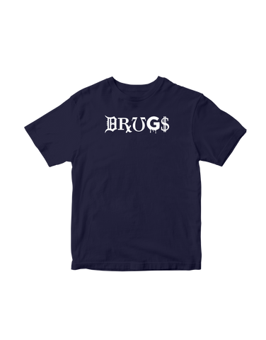 DRUGS Short Sleeve T-shirt