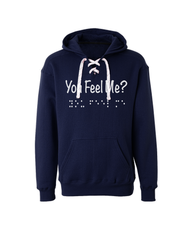 You Feel Me Sport-lace Hoodie