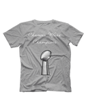 Chances Make Champions (NFL) Short Sleeve T-shirt