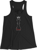 Chess Queen Women's Racerback Tank