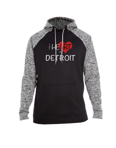 Heart of Detroit Colorblock Hoodie