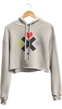 Love Life Mind Music Cropped Hoodie