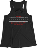 Look Both Ways Women's Racerback Tank