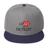 Heart of Detroit Snapback Hat