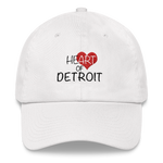 Heart of Detroit Dad hat