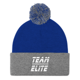 Team Elite Classic Pom Pom Knit Skully