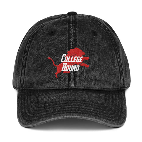 UYA College Bound Distressed Dad Hat