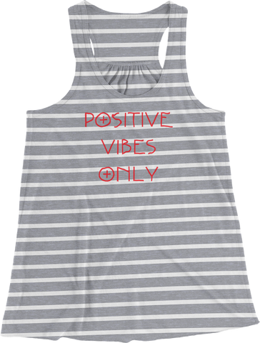 Positive Vibes Only Women's Racerback Tank