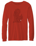 Streets of Detroit Longsleeve Youth T-shirt