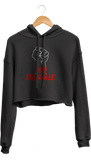 The Struggle Cropped Hoodie
