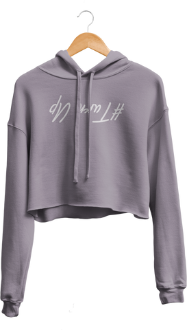 Turn Up Cropped Hoodie