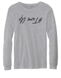 Turn Up Longsleeve T-shirt