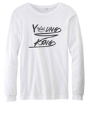 Young King Longsleeve Youth T-shirt