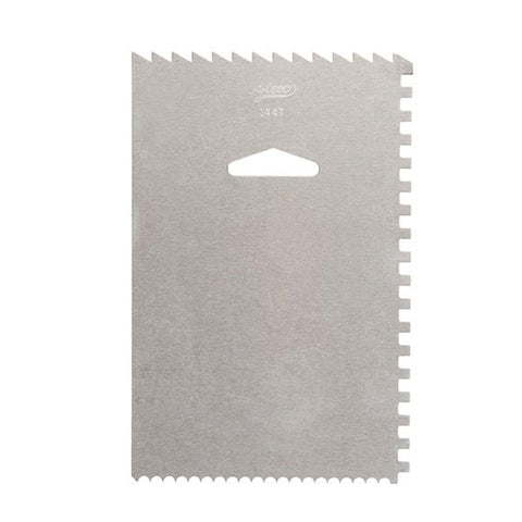 Icing comb & smoother -1447 - CulinaryKraft