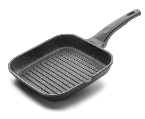 Non-stick frying pan square grill 24 x 24cm -24125 - CulinaryKraft