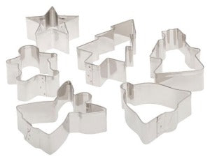 Christmas Cookie Cutter Set -4842 - CulinaryKraft