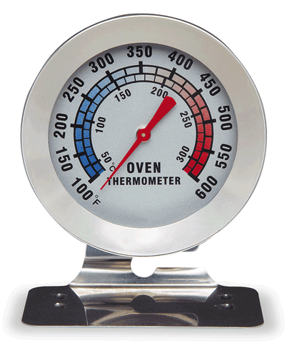 Thermometer Oven  w/base - 62454 - CulinaryKraft