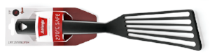 Spatula/ Turner Slotted, Nylon Black -7913815 - CulinaryKraft