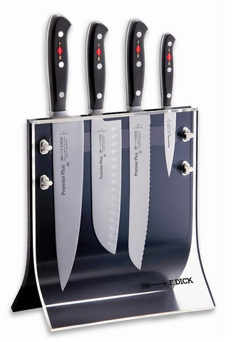 Premier Plus 4 knives and knife block set -8804011 - CulinaryKraft