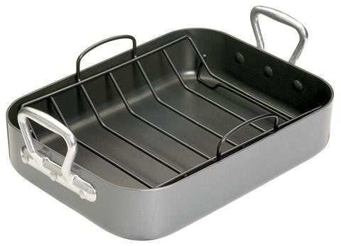 Roasting Pan w/rack - KCMCHROAST36 - CulinaryKraft