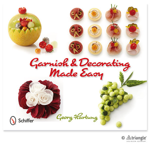 Garnish & Decorating made easy book -SA0056 - CulinaryKraft