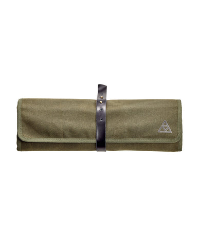 Waxed Canvas Tool Roll-up-bag Empty - SA0426