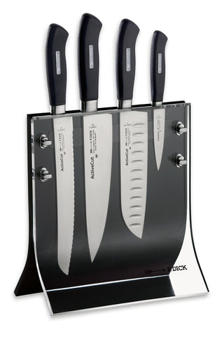 Active Cut 4 knives and knife block set -8907200 - CulinaryKraft