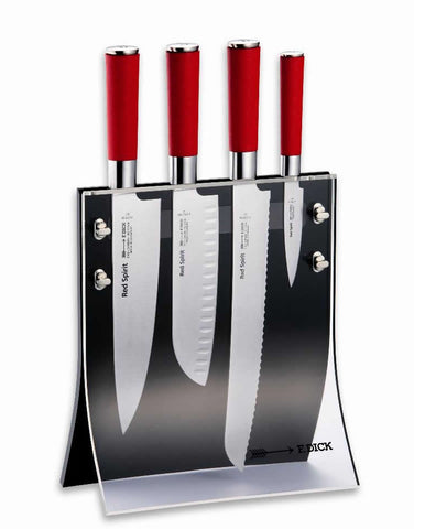 Red Spirit 4 pce knife set- 81772000 - CulinaryKraft