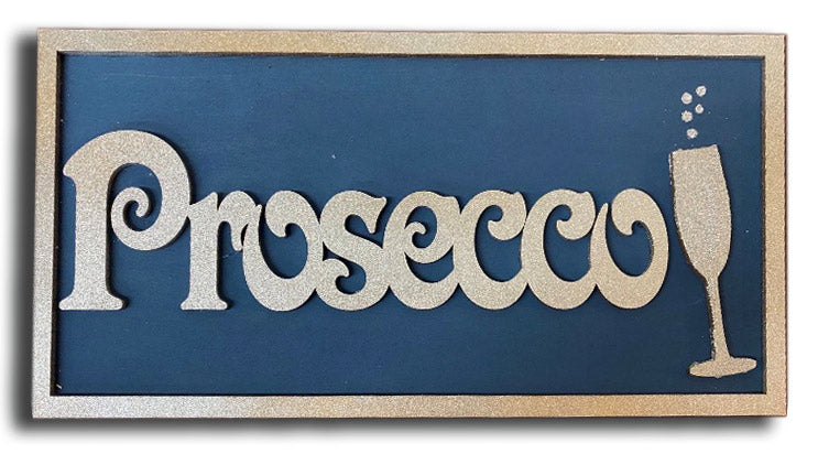 Instructions to Make an MDF Prosecco Plaque